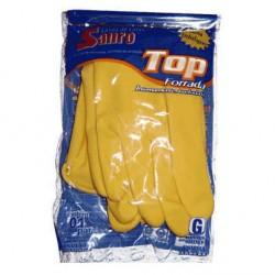 Luva Forrada Top Amarela Grande - Sanro